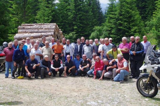 Giugno 2012 – Il MOTO CLUB TORRAZZO in giro per le Dolomiti
