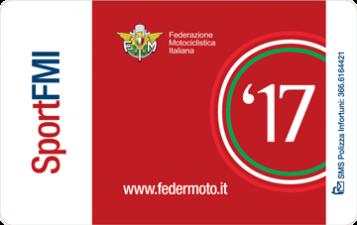 Tessera FMI Sport '17