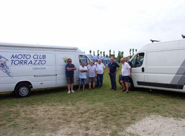 Maggio 2012 – il nostro CLUB tra i terremotati